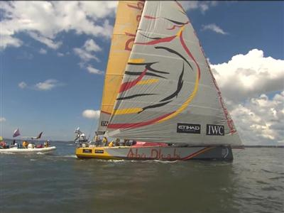 Victory for Team Alvimedica, Glory for Abu Dhabi Ocean Racing