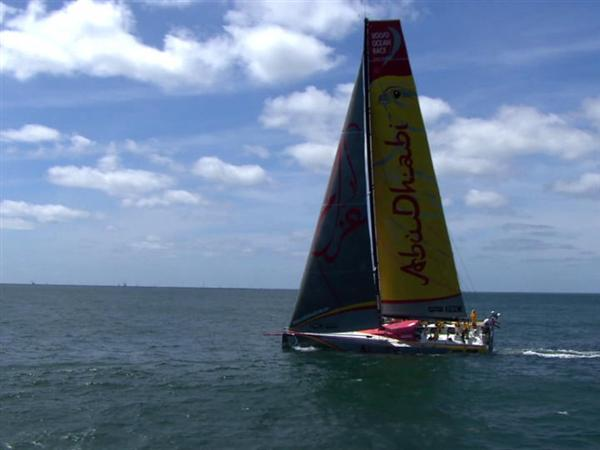 Five Volvo Ocean 65s go head to head in Round Britain and Ireland Race