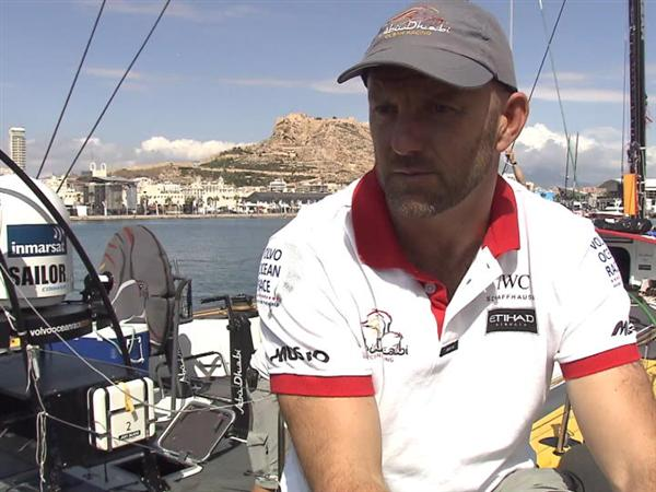 Volvo Ocean Race - Pre- InPort Race Interview with Ian Walker (Abu Dhabi Ocean Racing)