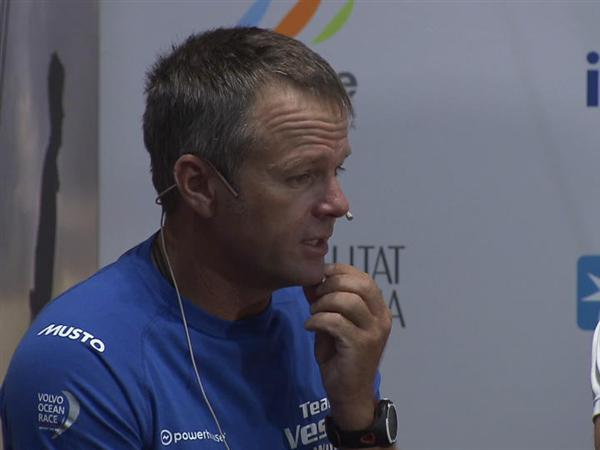 VNR - Volvo Ocean Race Leg 1 Skipper Press Conference