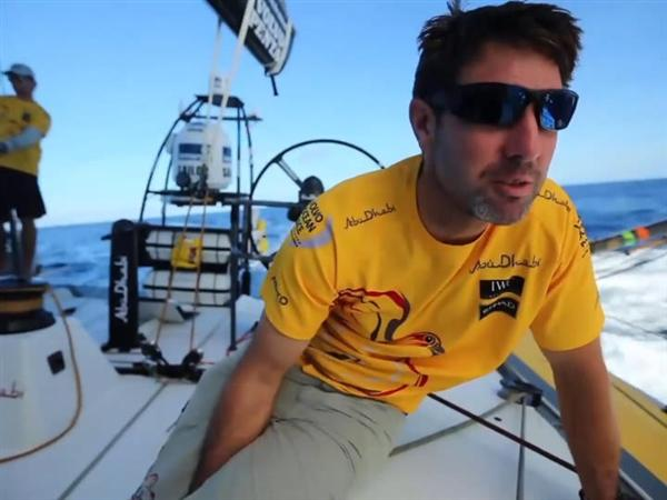 VNR - All seven Volvo Ocean 65s within striking distance of the lead