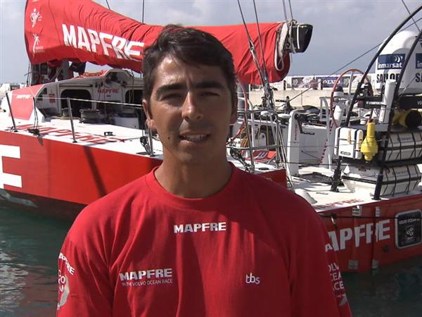 Pre-Leg 4 Interview with Andre Fonseca (BRA)