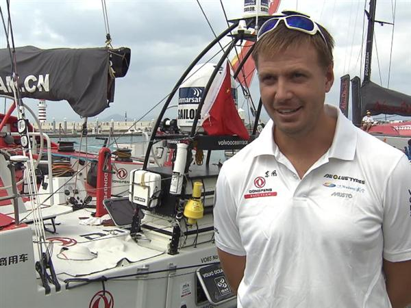 Pre-Leg 4 Interview with Martin Stromberg (SWE)