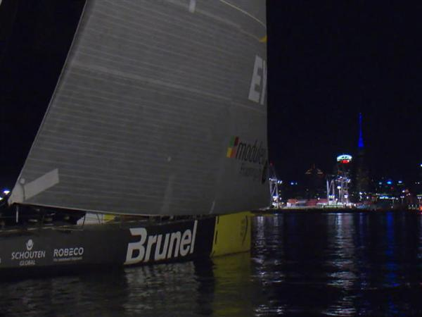 Wrapping up Leg 4 - Team Brunel takes fifth and Team SCA sixth in Auckland
