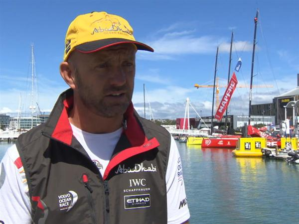 Pre-Leg 5 interview with Ian Walker (GBR)