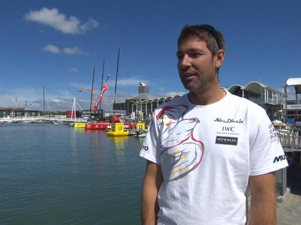 Pre-Leg 5 interview with Simon Fisher (GBR)