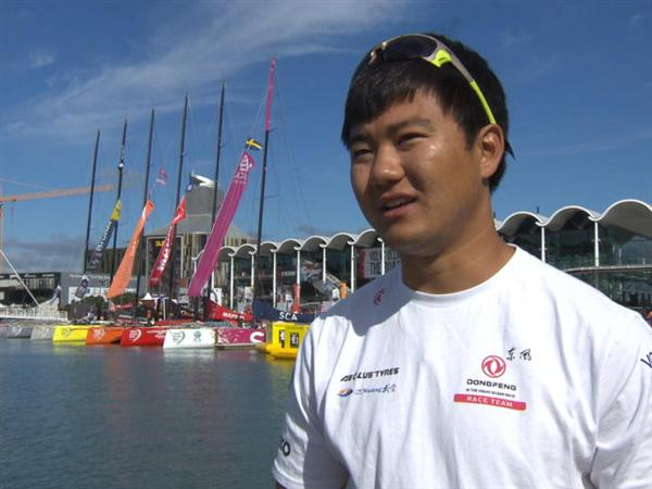 Pre-Leg 5 interview with  Yang Jiru « Wolf » (CHN)