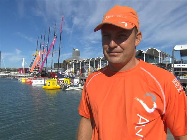 Pre-Leg 5 interview with Ryan Houston (NZL)