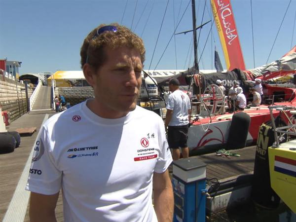 Pre-Leg 8 Interviews with Charles Caudrelier (FRA)