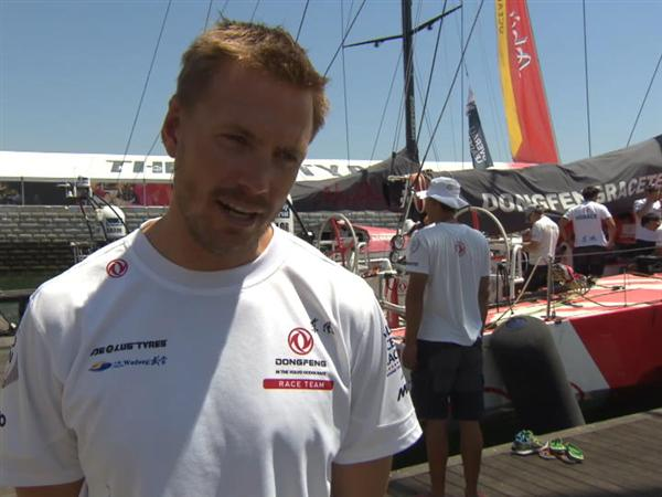 Pre-Leg 8 Interview with Martin Stromberg (SWE)