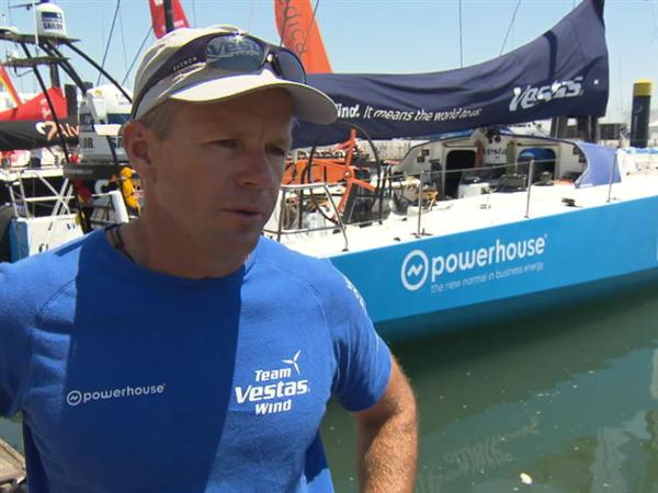 Pre-Leg 8 Interview with Chris Nicholson (AUS)