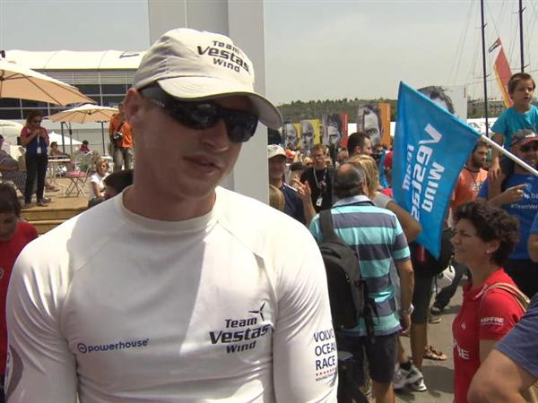 Leg 8 Start Interview with Nicolai Sehested (DEN)