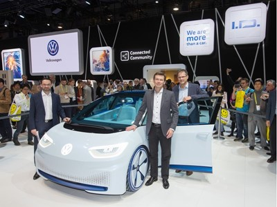 "Volkswagen at CES 2017: ""We are always on."""