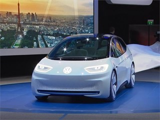 Unveiling Volkswagen I.D. Concept Car - Paris 2016