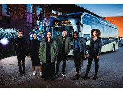 Famous Swedish artists perform surprise gig to promote new electric bus route – with Seinabo Sey content