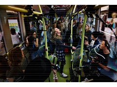 Famous Swedish artists perform surprise gig to promote new electric bus route – with Zara Larsson content