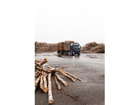 Volvo Truck at the pulp mill