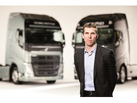 Martin Palming, project manager Chassis at Volvo Trucks