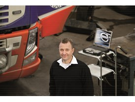 Christian Gustavsson, Service Manager at Volvo Trucks