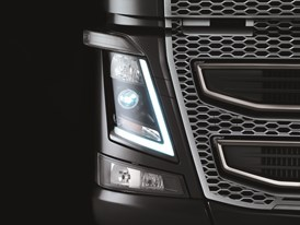 The new Volvo FH16 - headlight