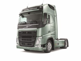 The new Volvo FH - studio image, left side