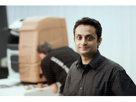 Asok George, Chief Designer Exterior at Volvo Trucks.