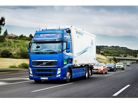 Road train in reality_truck in front