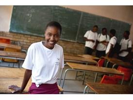 Miranda Mathibela, student Mpontsheng Secondary School, Johannesburg.