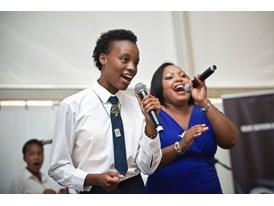 The Star For Life Choir.