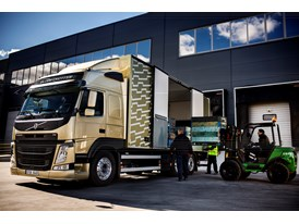The new Volvo FM - loading