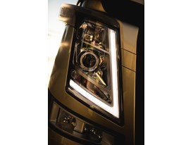 The new Volvo FM- new headlights