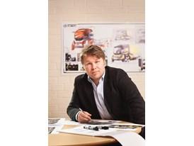 Patrik Palovaara, Senior Designer at Volvo Trucks