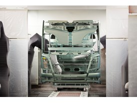 The paintshop is one of the most environmentally optimised in the world.