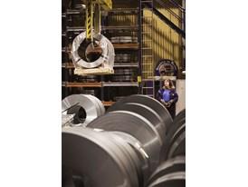 Rolls of sheet steel