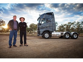Journalists Steve Brooks and Brian Weatherley put the new Volvo FH 16 through its paces.