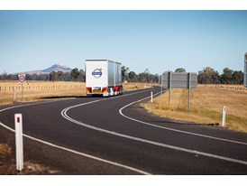 The new Volvo FH16 on the Australian roads.