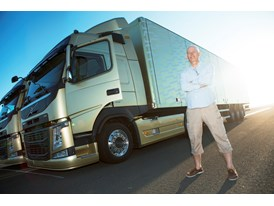 Jan-Inge Svensson, technician behind the Volvo Dynamic Steering