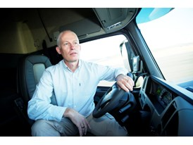 Jan-Inge Svensson, an engineer  at Volvo Trucks, developed the software for Volvo Dynamic Steering – the system that mad