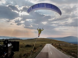 Volvo Trucks Live Test 'The Flying Passenger'