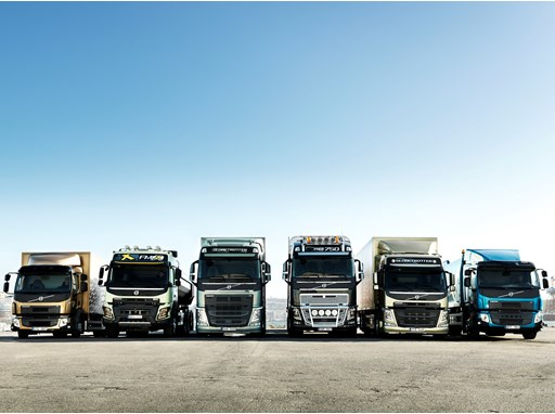 Volvo Trucks has renewed its entire truck model range in eight months 2