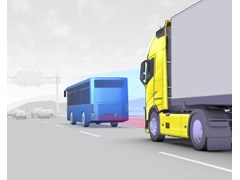 Volvo Trucks Introduces Collision Warning with Emergency Brake