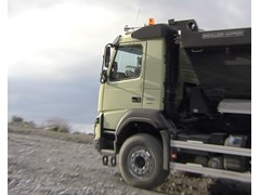 The New Volvo FMX is so Easy to Steer that a Hamster can Take Over the Wheel
