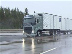 Volvo Trucks Boosts Safety on Slippery Winter Roads