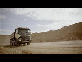 New Volvo FMX – Driving footage