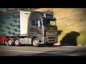 Short clip: Brian and Steve discuss the steering quality of the new Volvo FH16