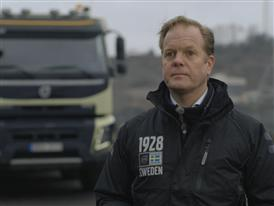 Short clip: Interview Jonas Odermalm, Construction Segment Manager, Volvo Trucks.