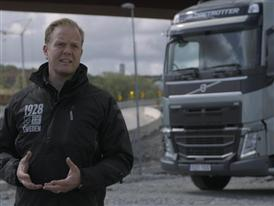 Short clip: Interview Jonas Odermalm, Construction Segment Manager, Volvo Trucks