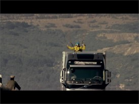 Volvo Trucks – The Flying Passenger (Live Test)
