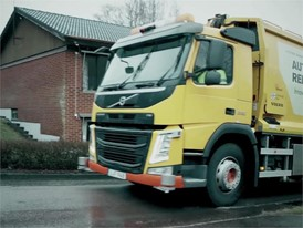 Volvo Trucks –  Refuse handling like you've never seen it before (autonomous truck) - English Subtitles