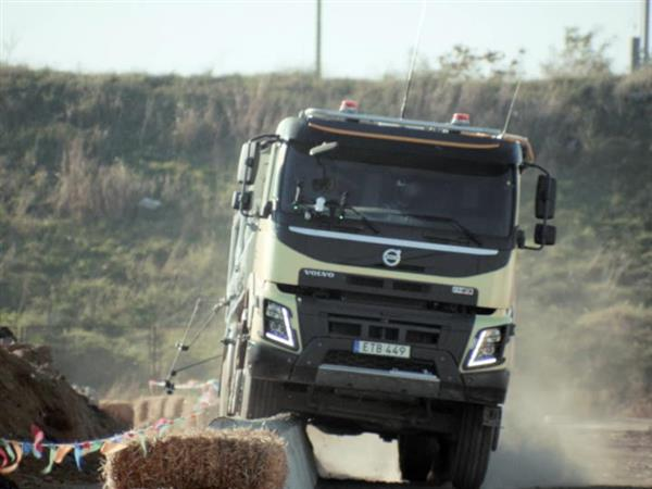 Volvo Trucks – Look Who's Driving feat. 4-year-old Sophie (Live Test)